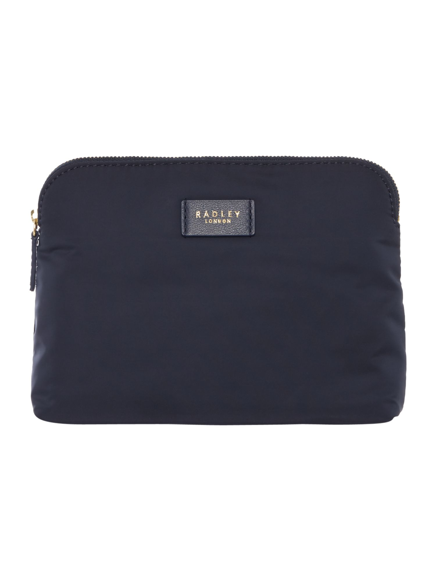 Radley Castle place small cosmetic bag, Blue