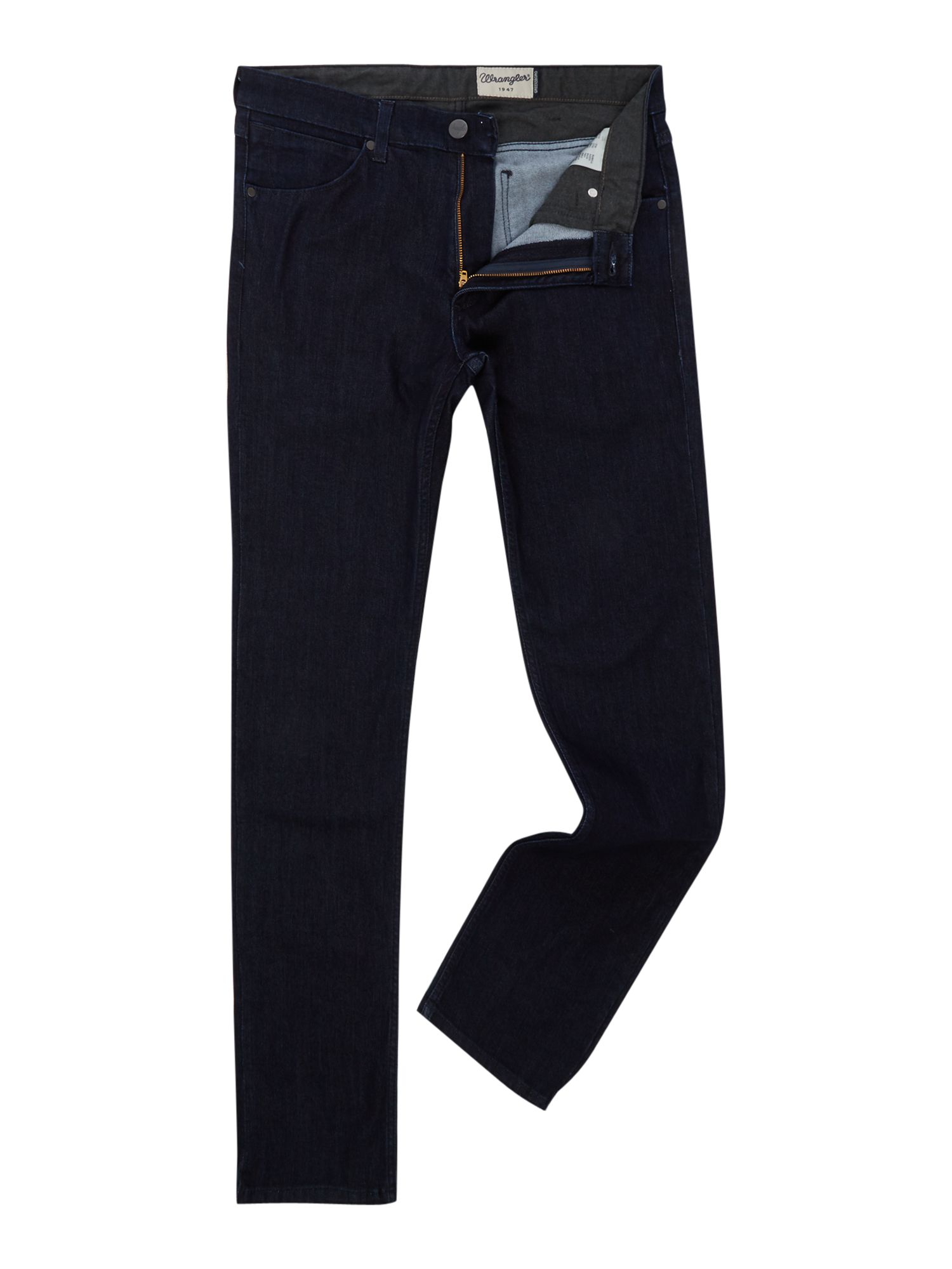 Mens Greensboro Regular Fit Indigo Jeans, Indigo