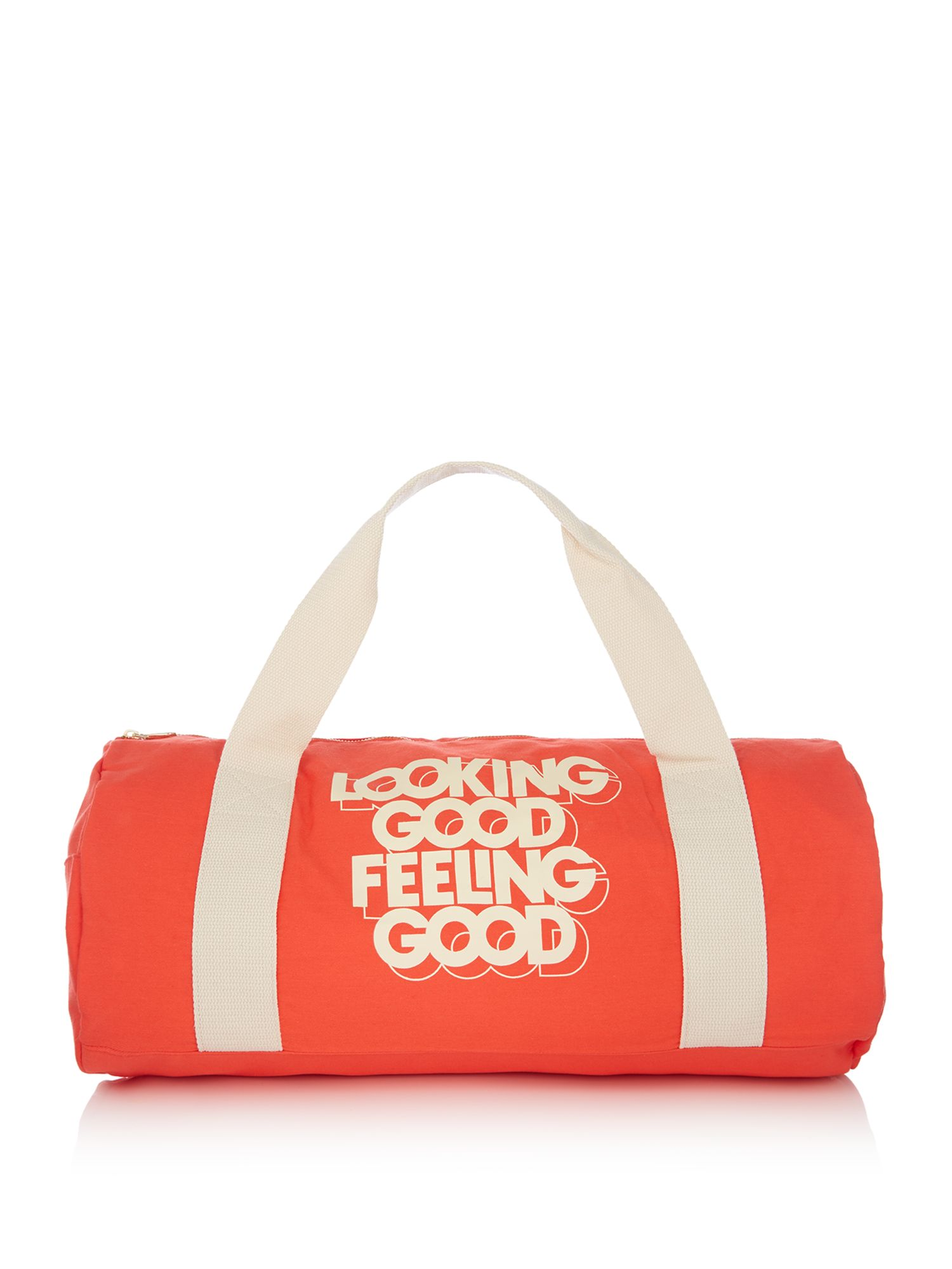 Ban.do Slogan looking good feeling good gym bag, Multi-Coloured