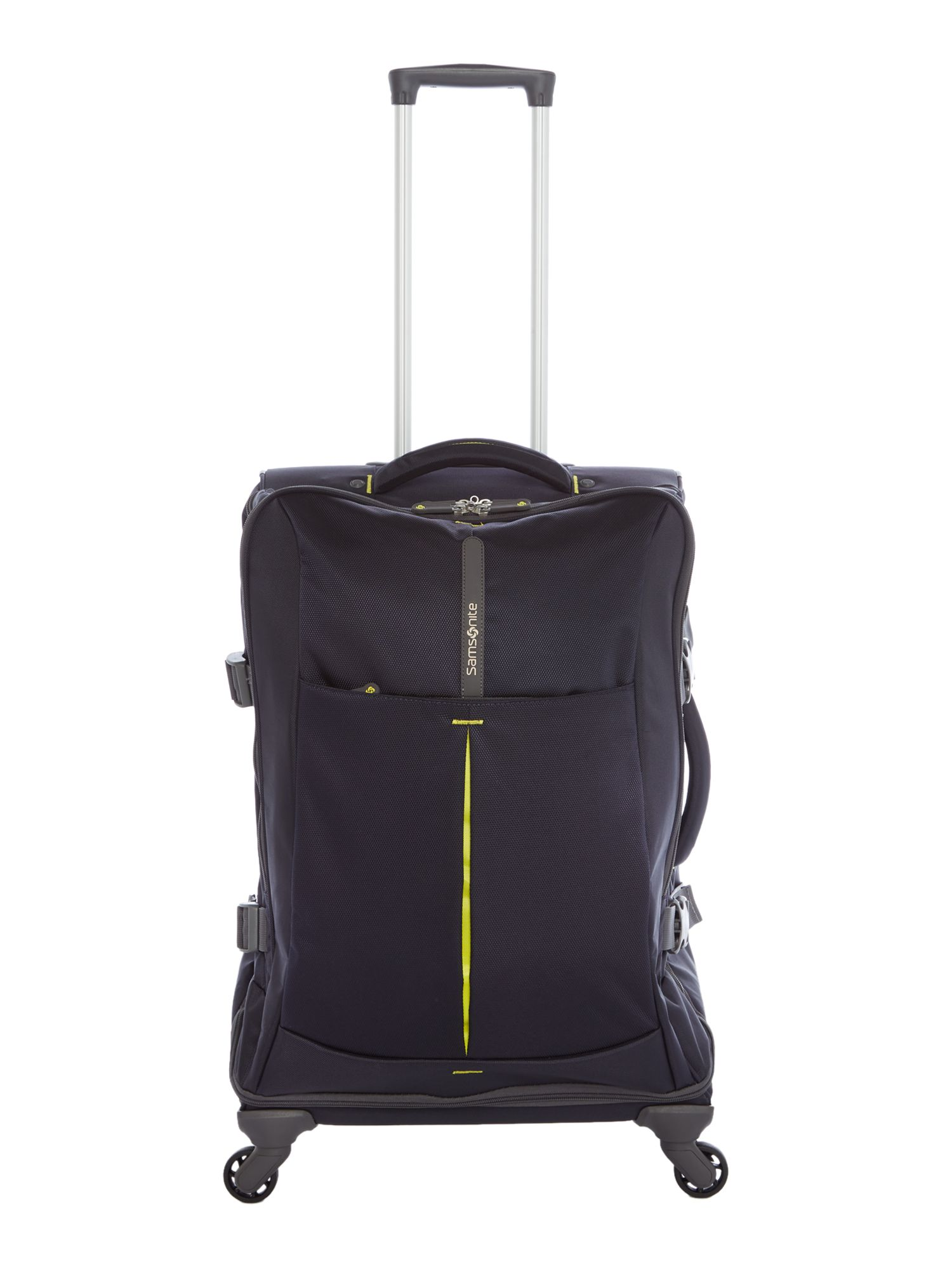 Samsonite 4Mation Navy Medium Suitcase, Blue