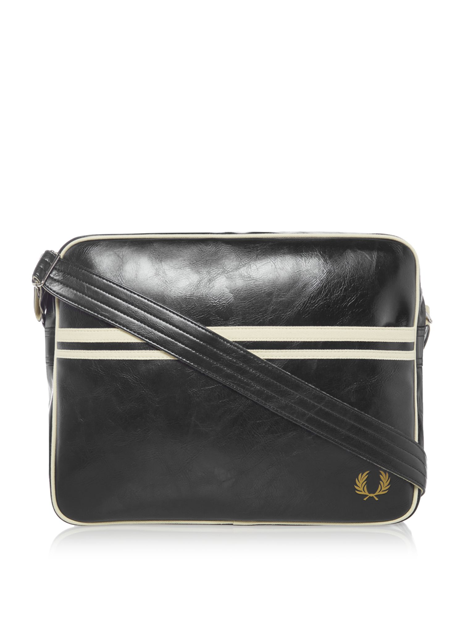 Fred Perry Classic Shoulder Bag, Black