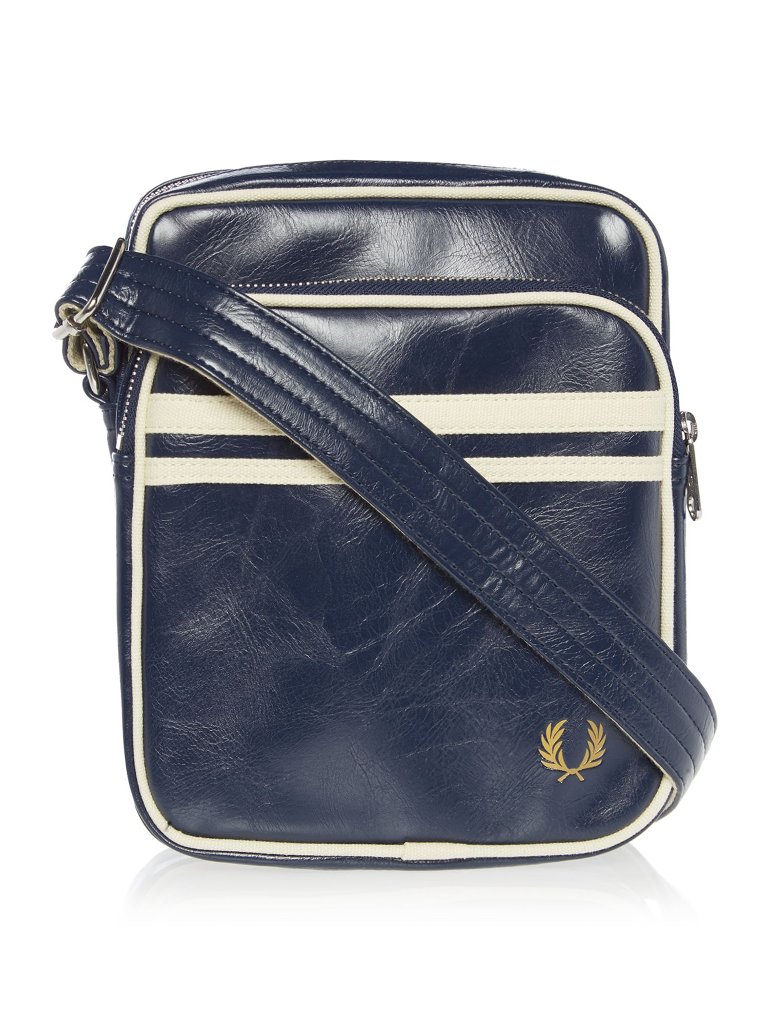 Fred Perry Classic Side Bag, Blue