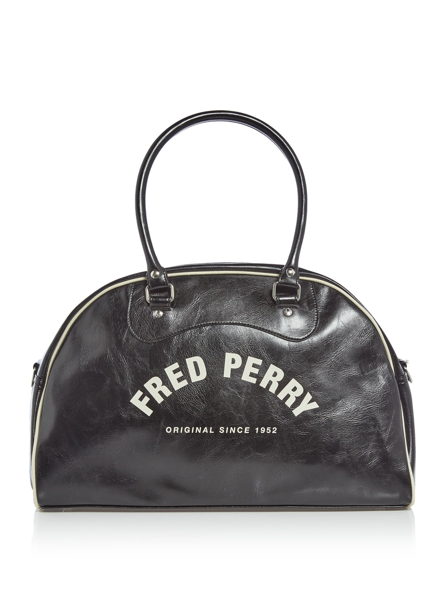 Fred Perry Classic Grip Holdall Bag, Black