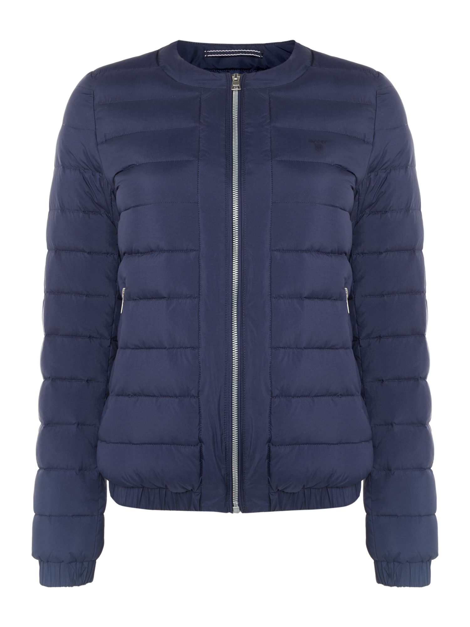 GANT Light Weight Down Quilted Blouson Jacket, Blue