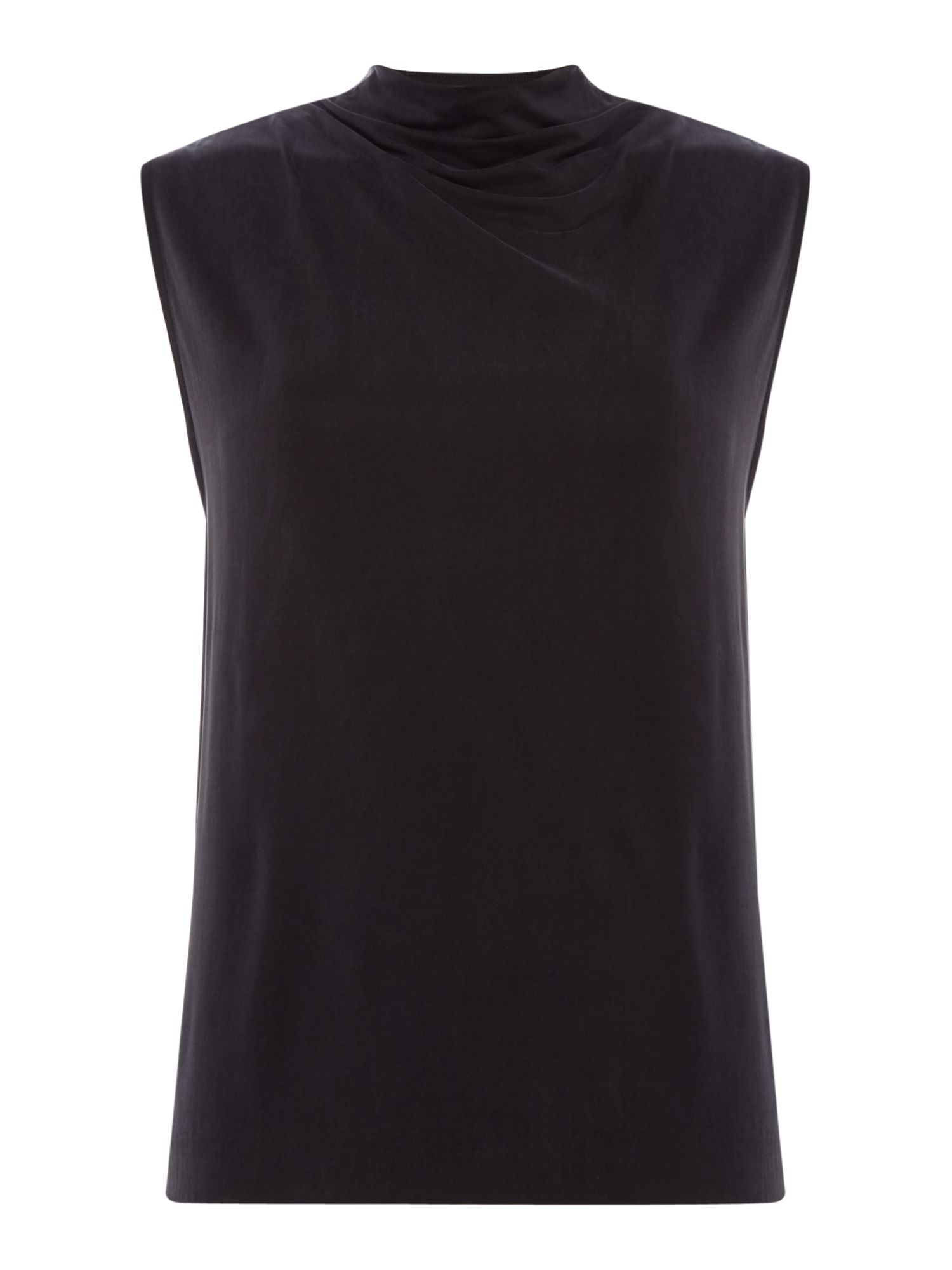 Samsoe and Samsoe Shila v back cut out top, Black