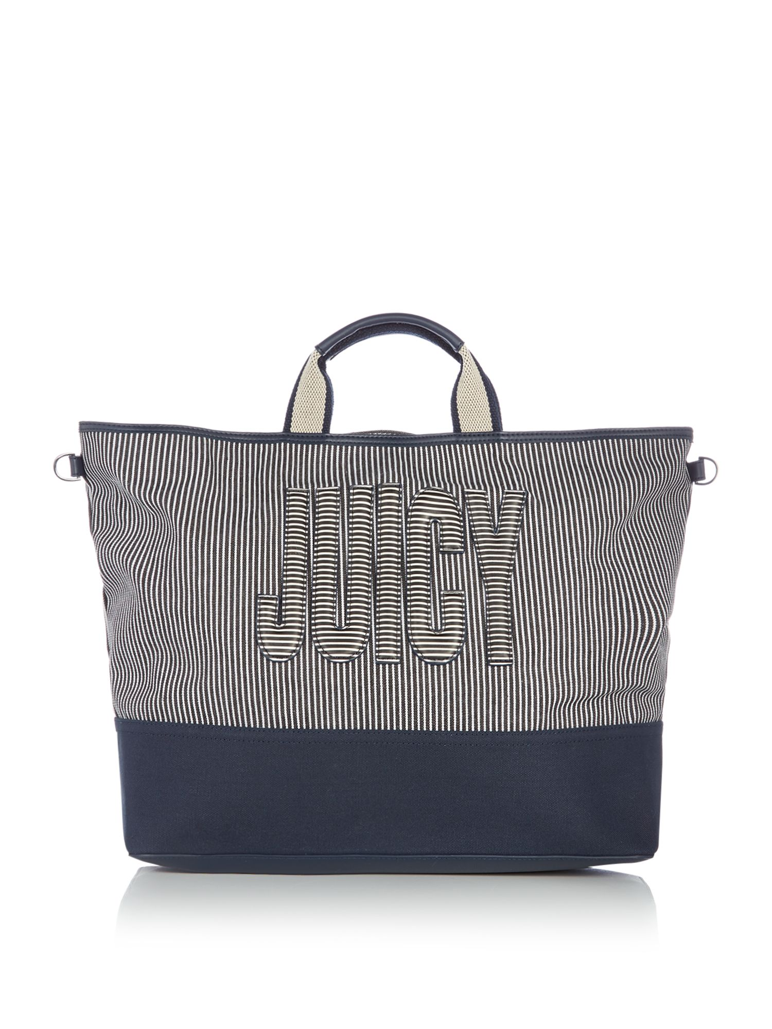 Juicy by Juicy Couture Parker canvas tote bag, Blue