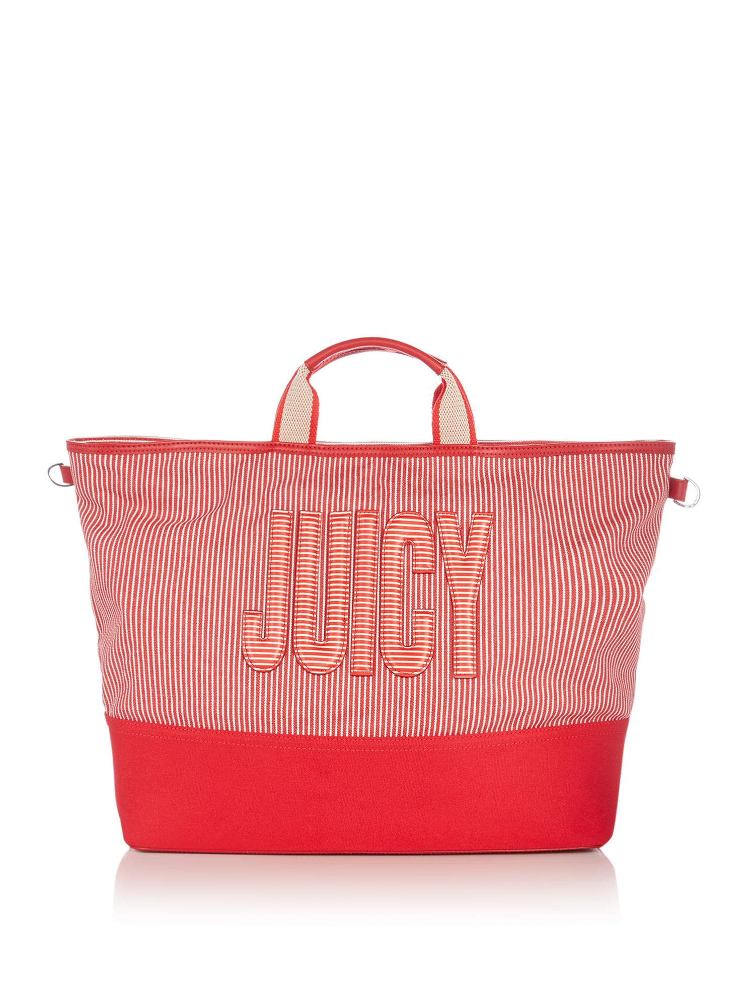 Juicy by Juicy Couture Parker canvas tote bag, Red