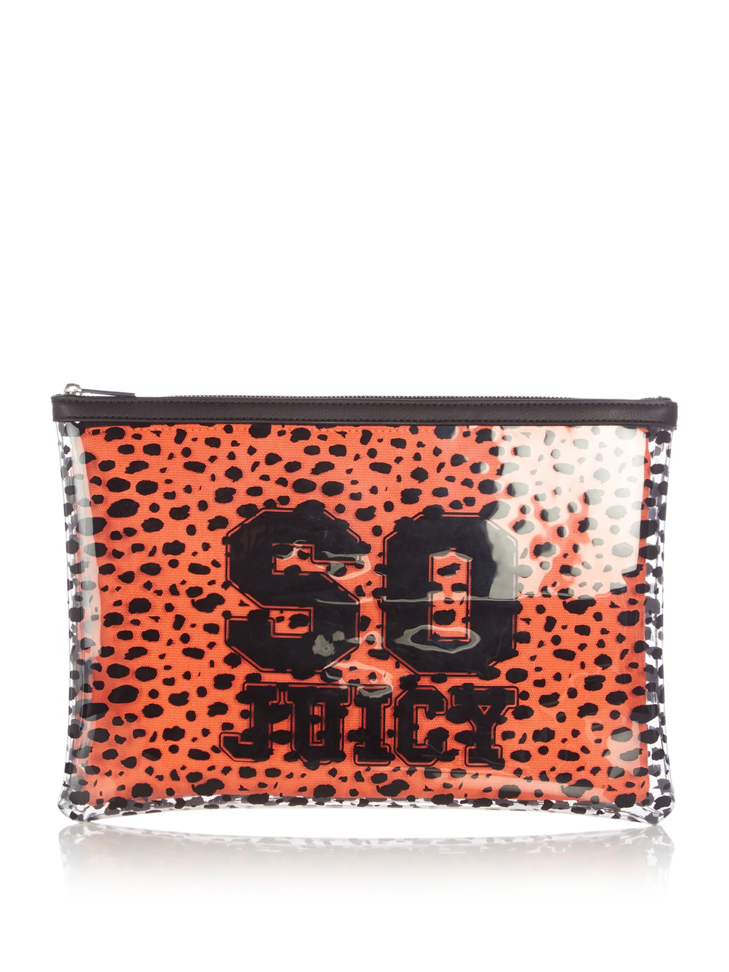 Juicy by Juicy Couture Zoey large pouch, Black Multi