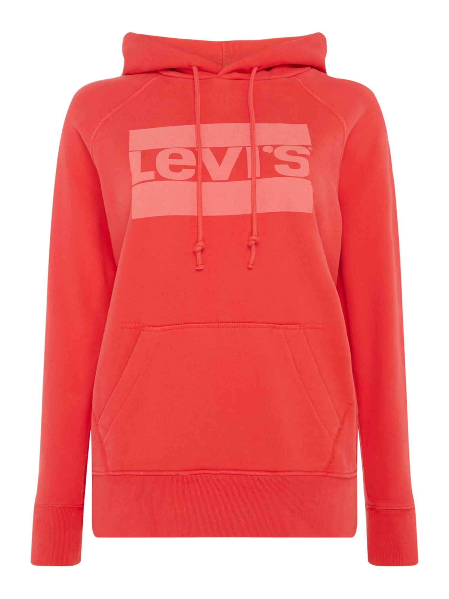 Levi's Hoodie With Graphic Sport Logo, Red