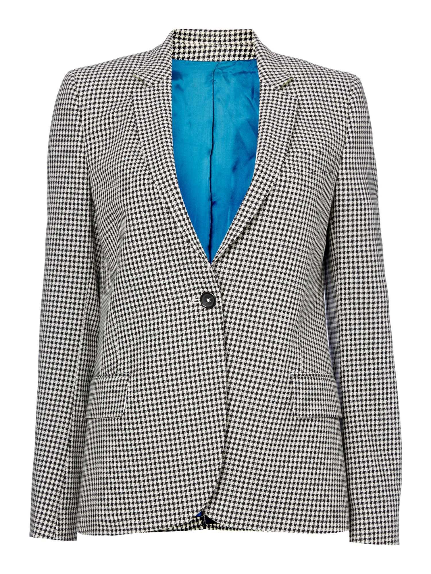 PS By Paul Smith Dogtooth jacket, Black