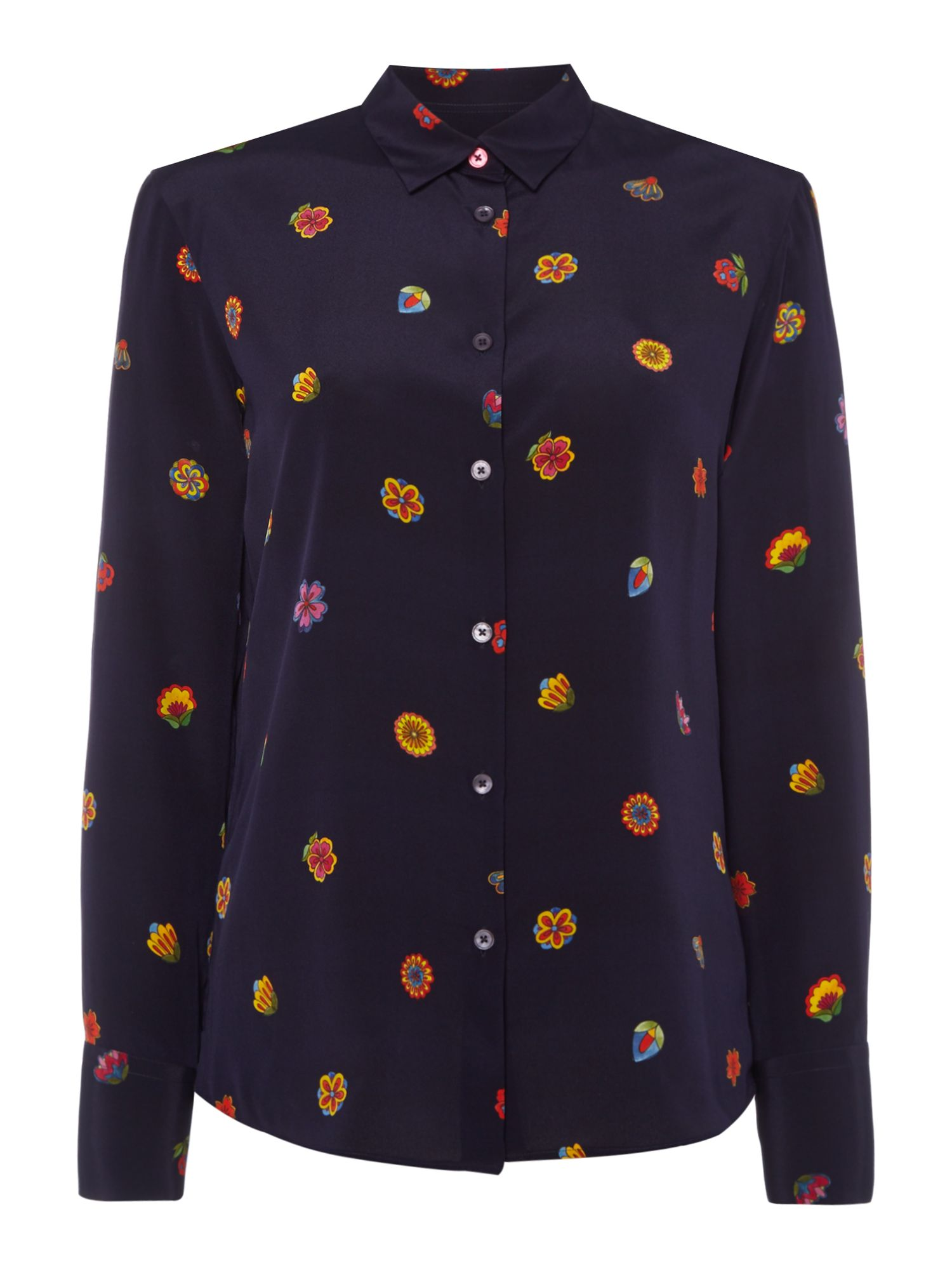 PS By Paul Smith Kyoto print shirt, Black