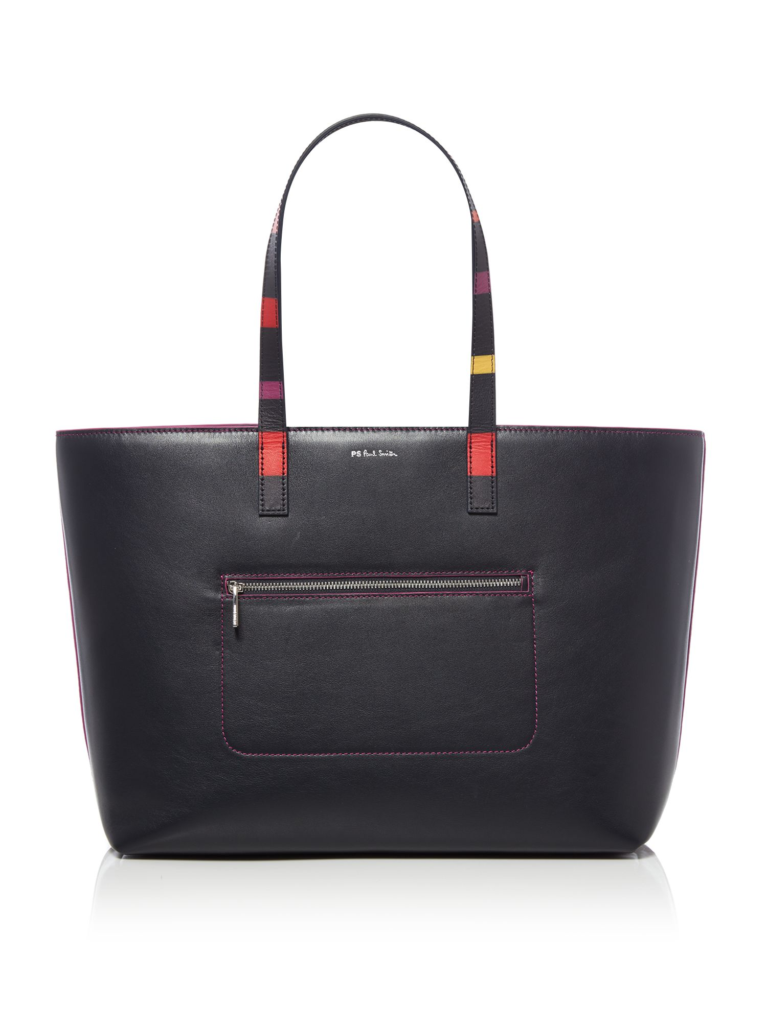 Paul Smith Colour band tote, Blue