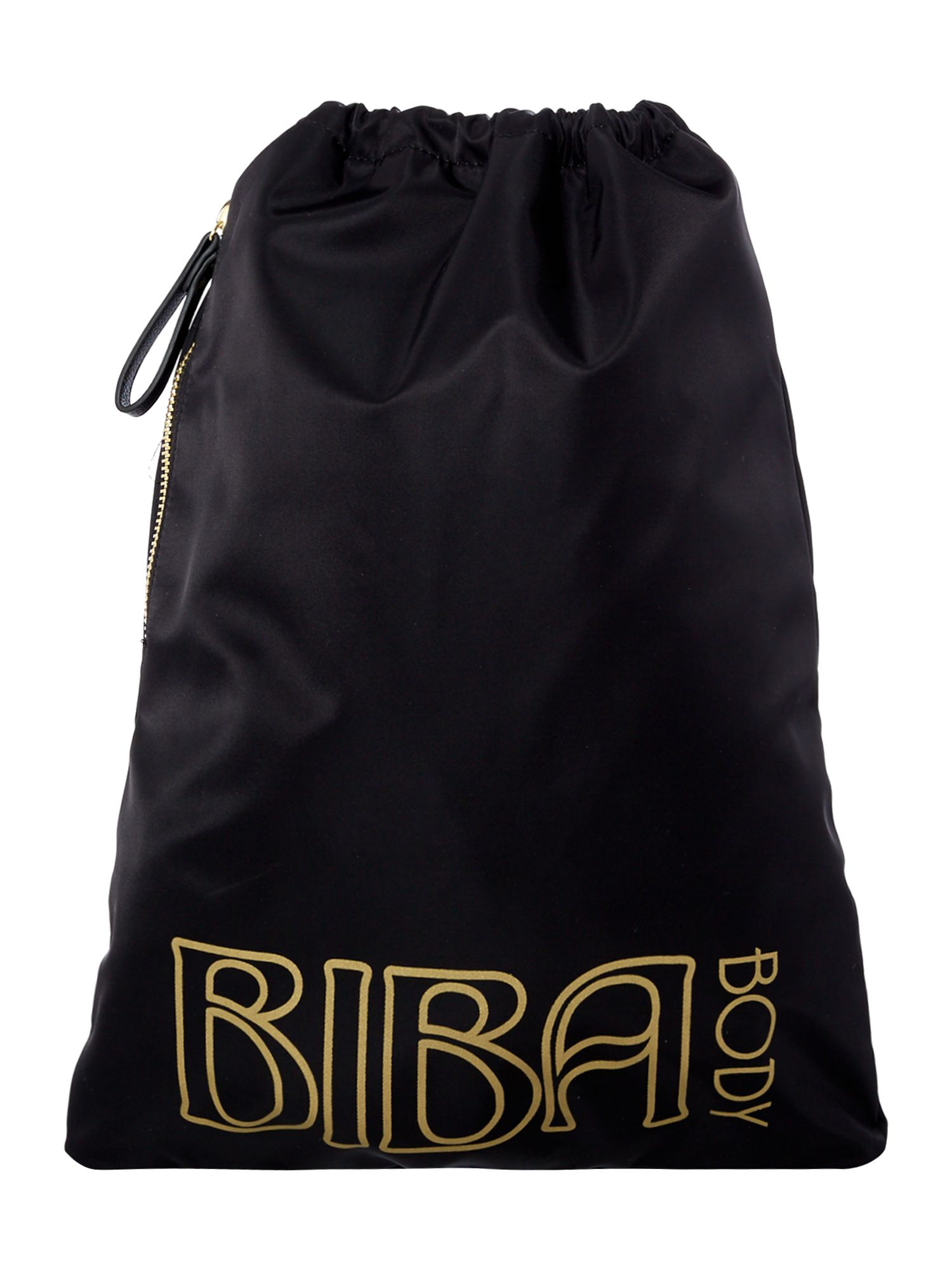 Biba Biba body drawstring bag, Black