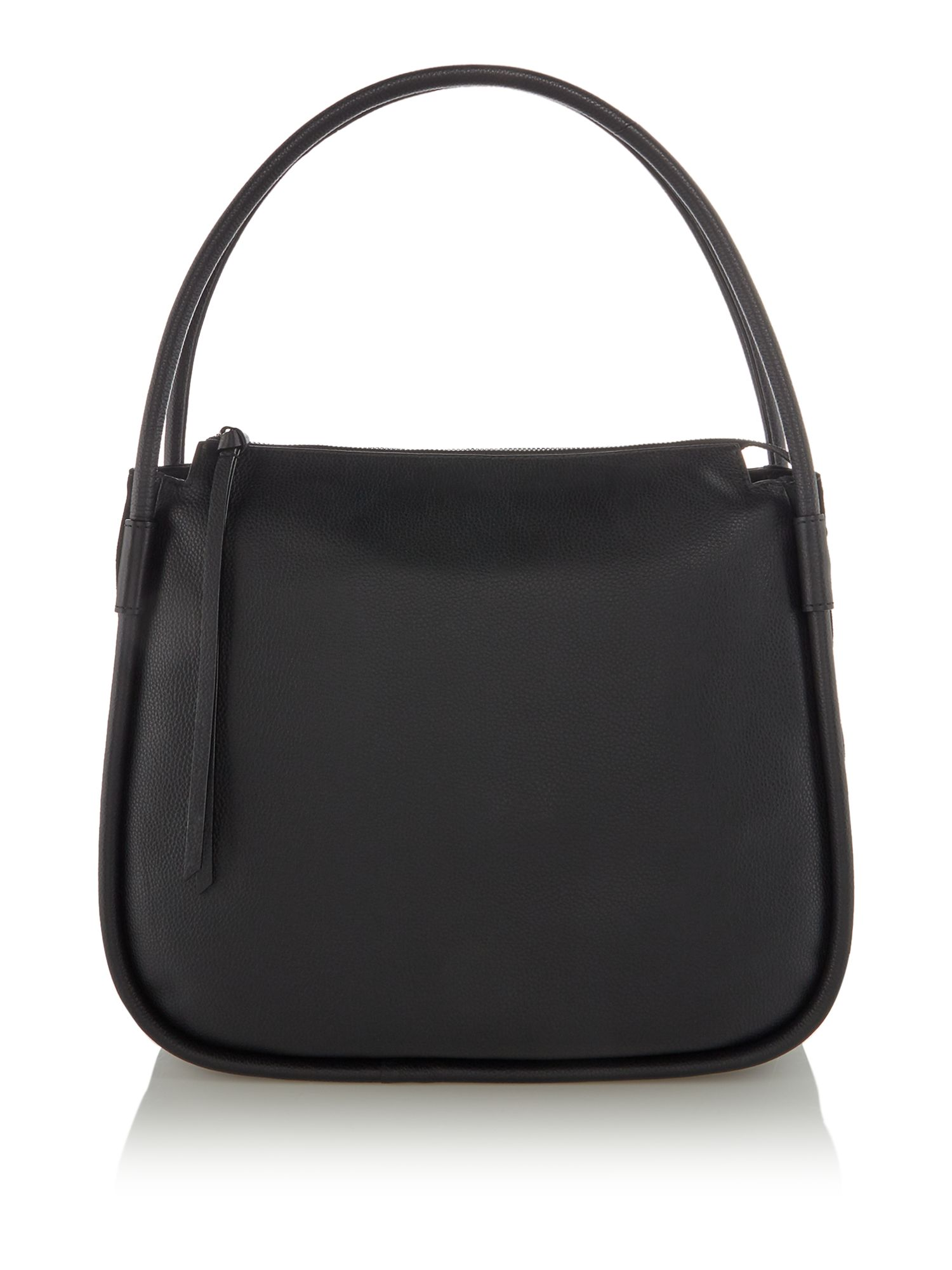 Label Lab Axel leather hobo, Black