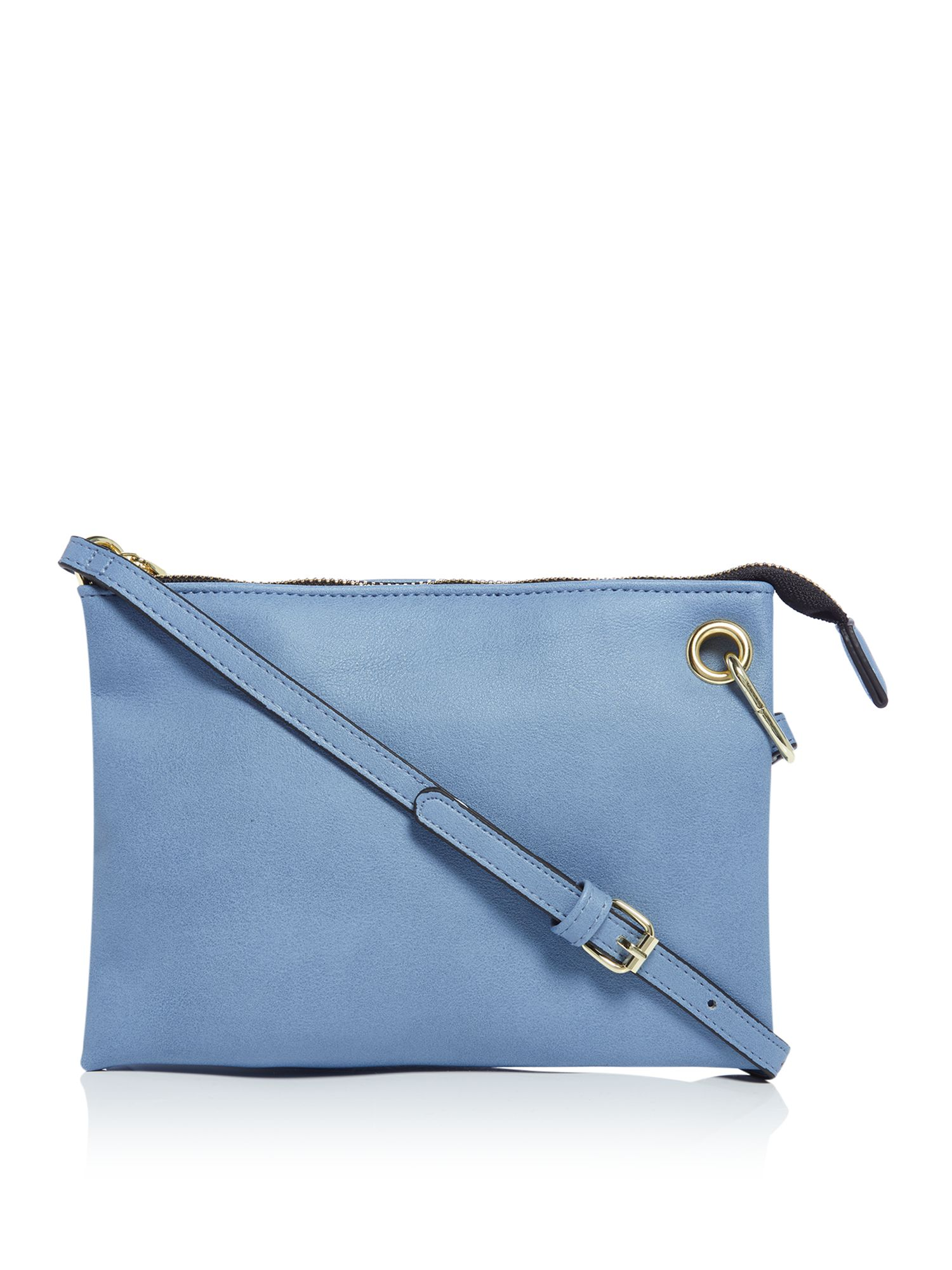 Therapy Fearne dual compartment crossbody bag, Blue