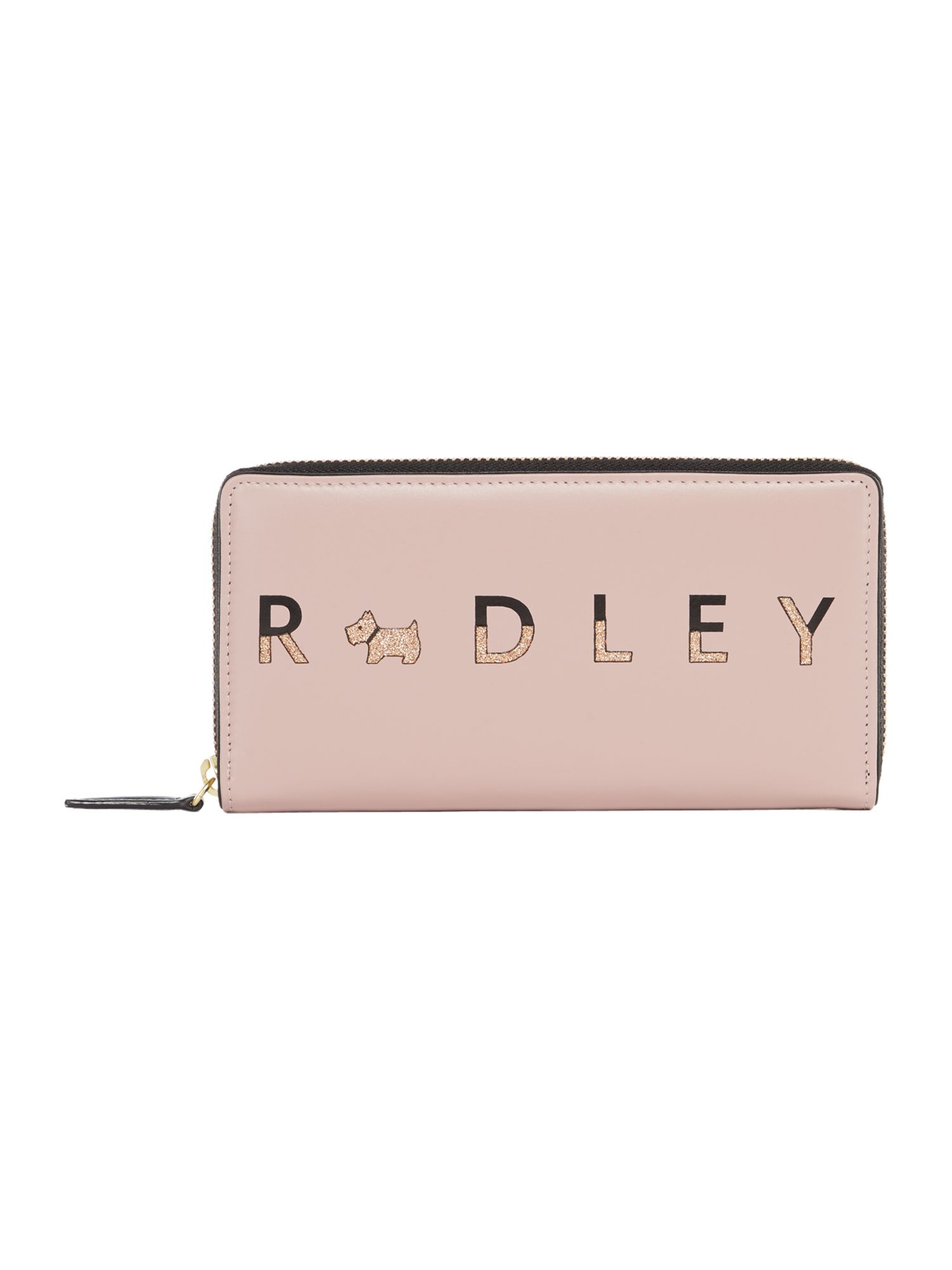 Radley All that glitters large zip around matinee purse, Neutral