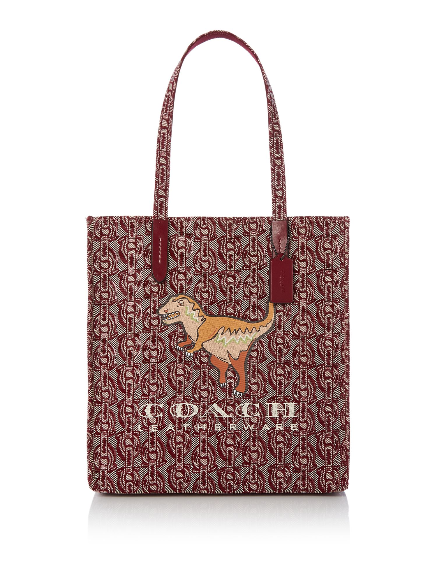 Coach 1941 canvas rexy tote, Red