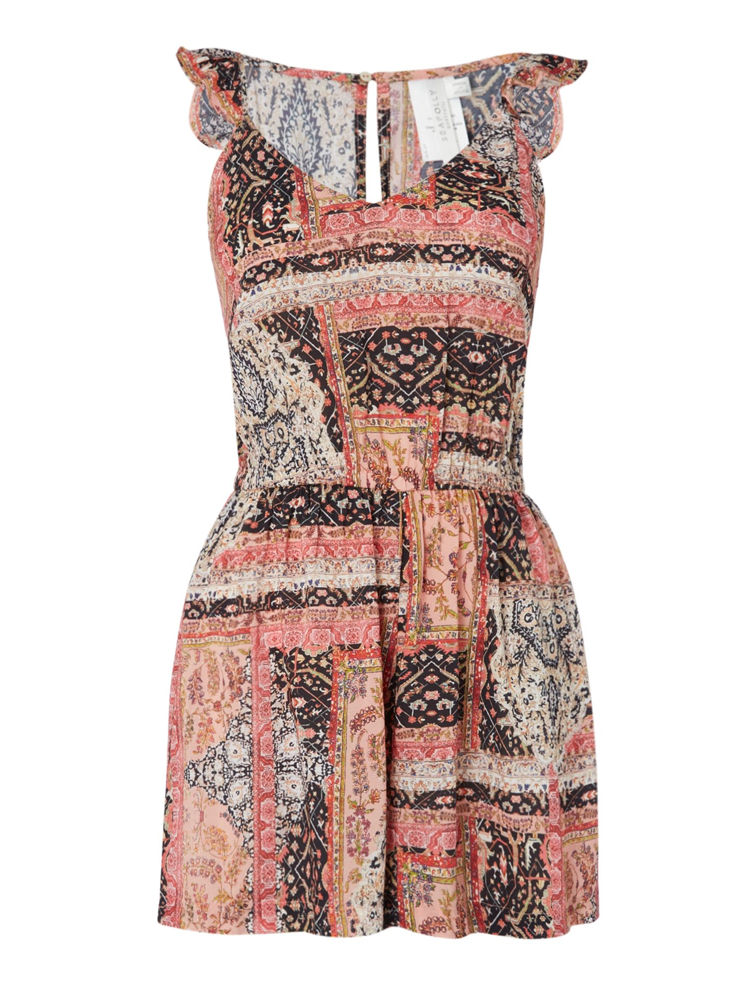Photo of Seafolly moroccan moon playsuit- pink