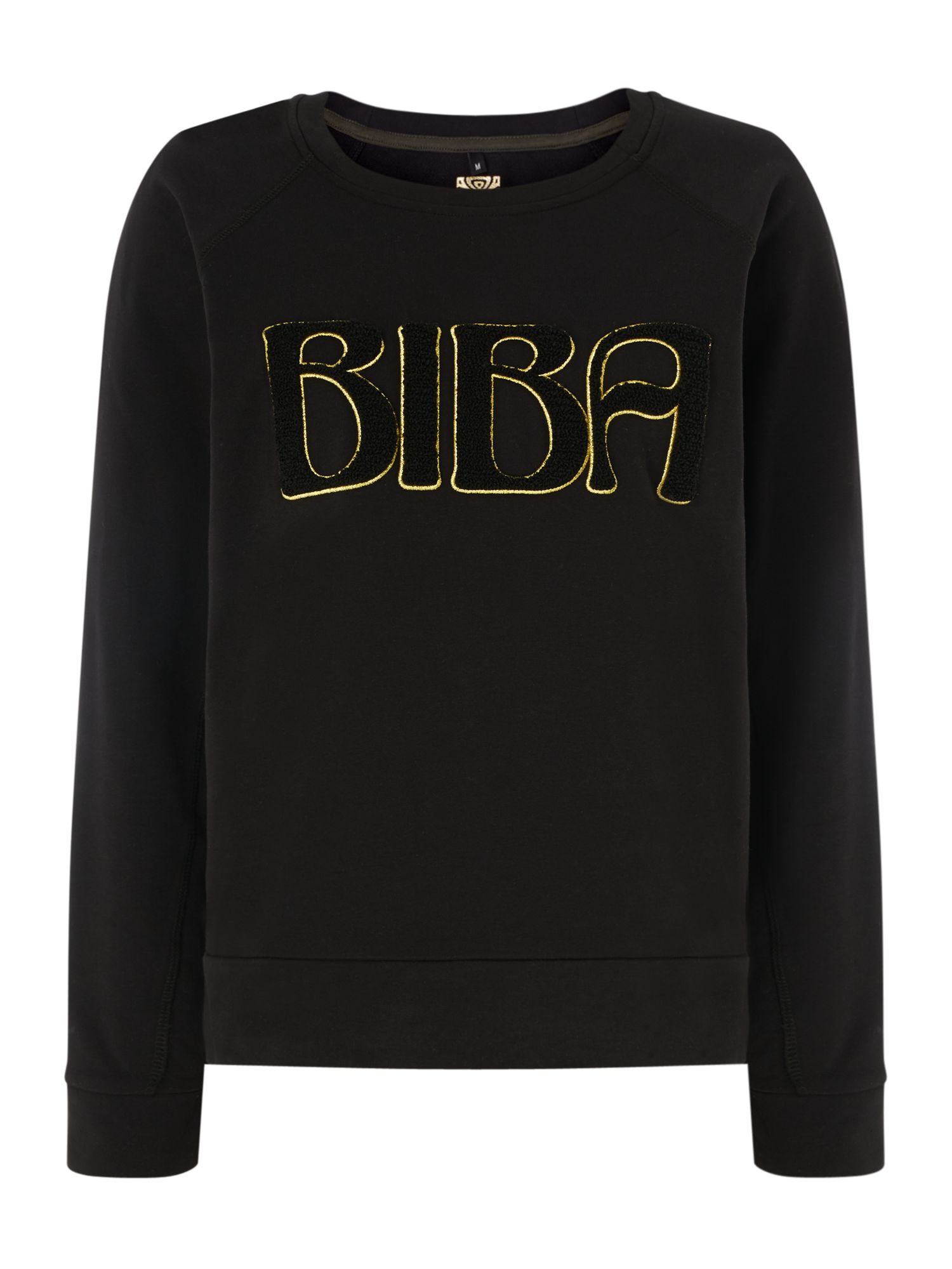 Biba Biba logo gym sweat, Black