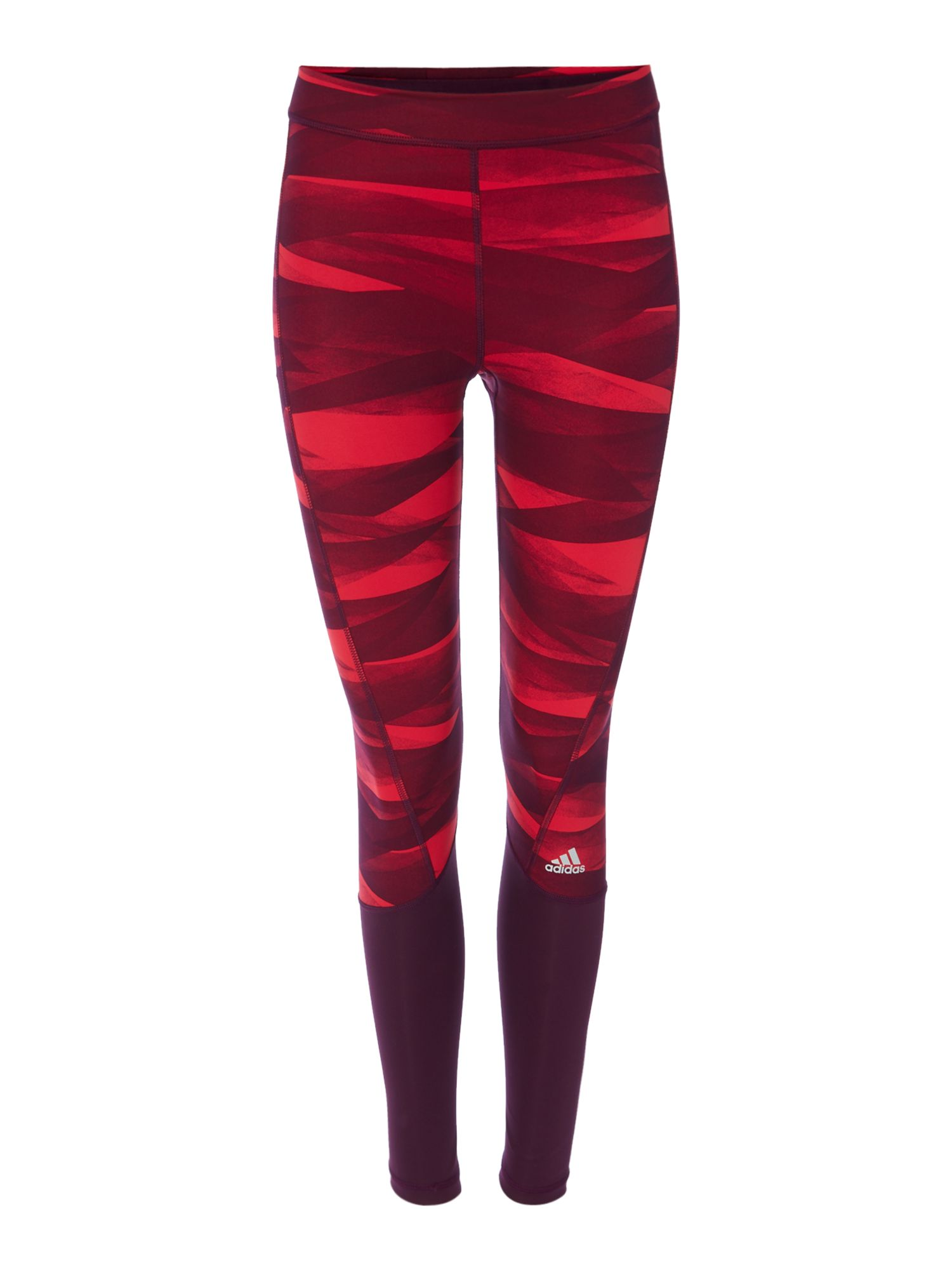 Adidas Patterned legging, Red