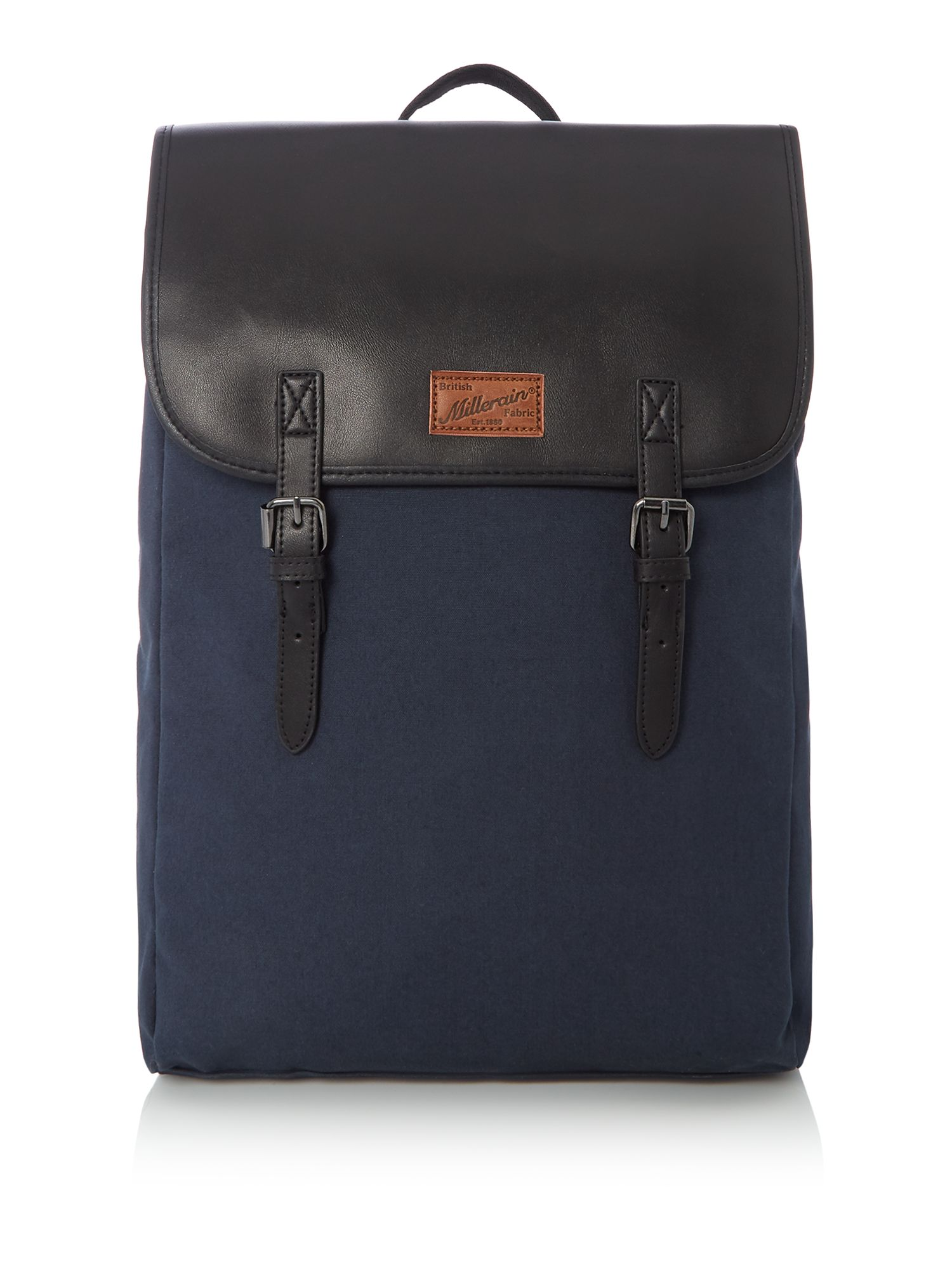 Criminal British Fabric Commuter Backpack, Blue