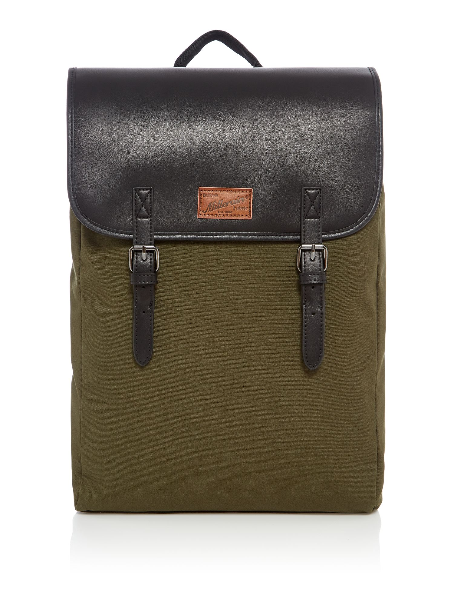 Criminal British Fabric Commuter Backpack, Khaki