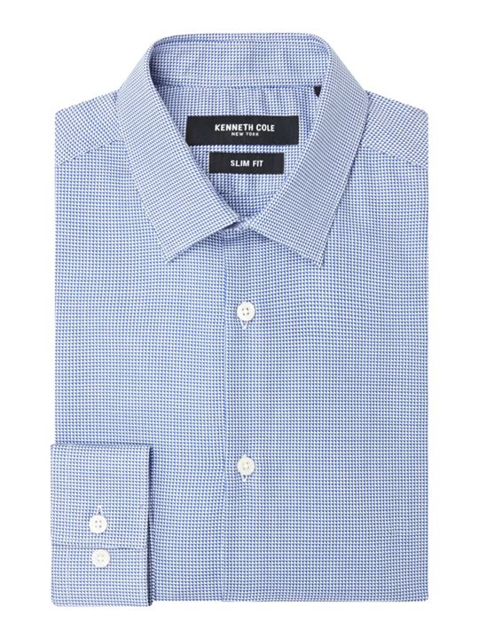 Kenneth Cole Morgan Slim Fit Textured Shirt