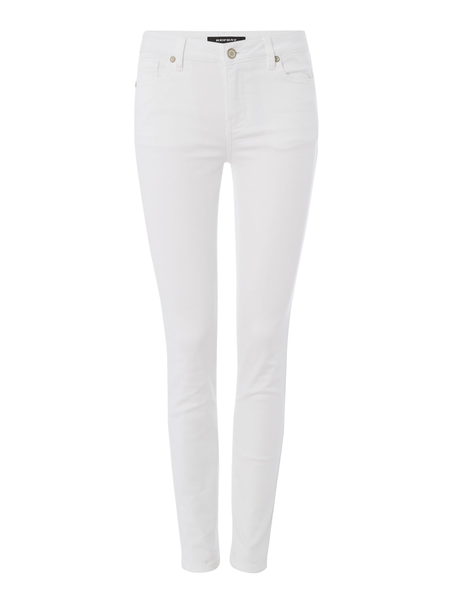 Repeat Cashmere Skinny jeans, White