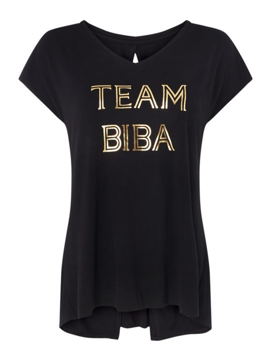 Biba Team Biba knot back top,