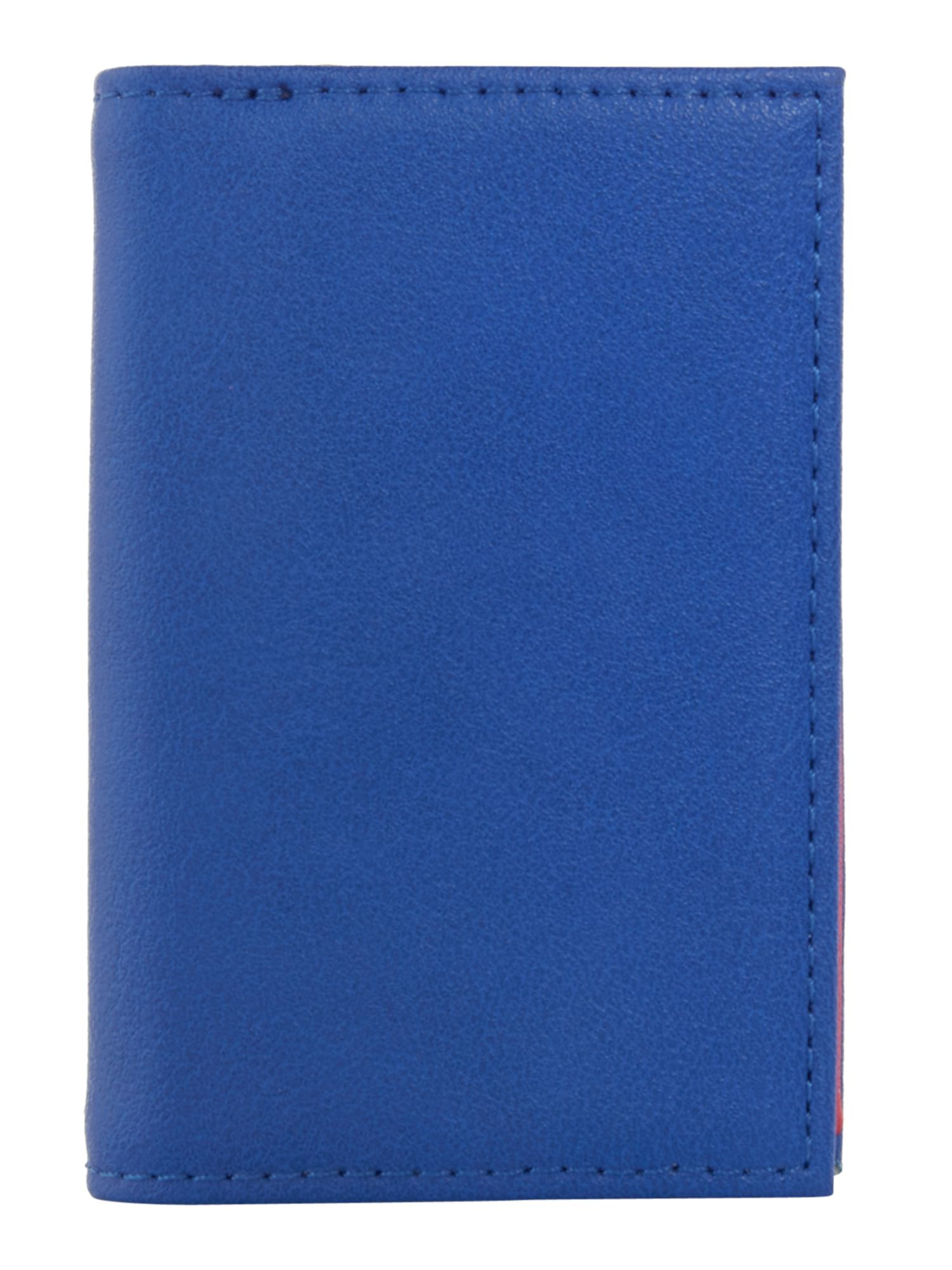 Therapy Colour block card holder, Blue