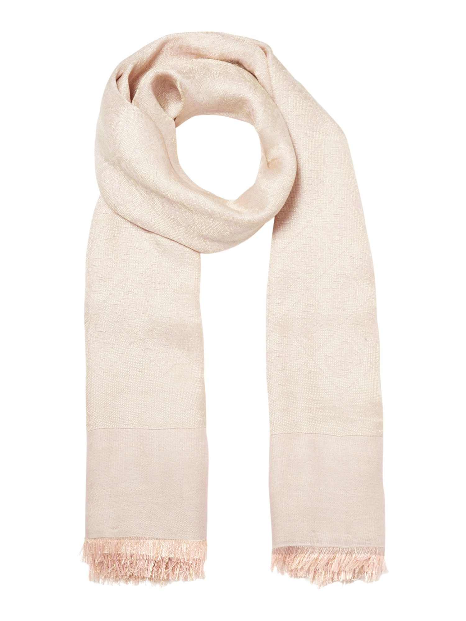 Guess All over logo not coordinated scarf, Rose