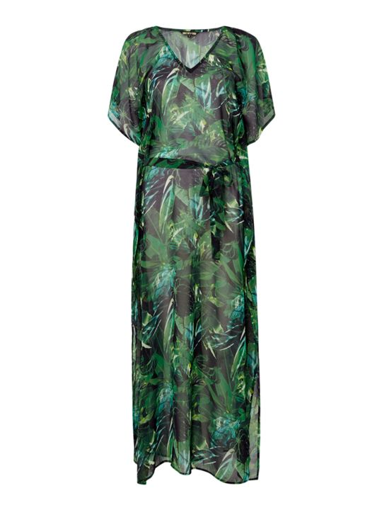 ISSA, Holly kaftan maxi dress,