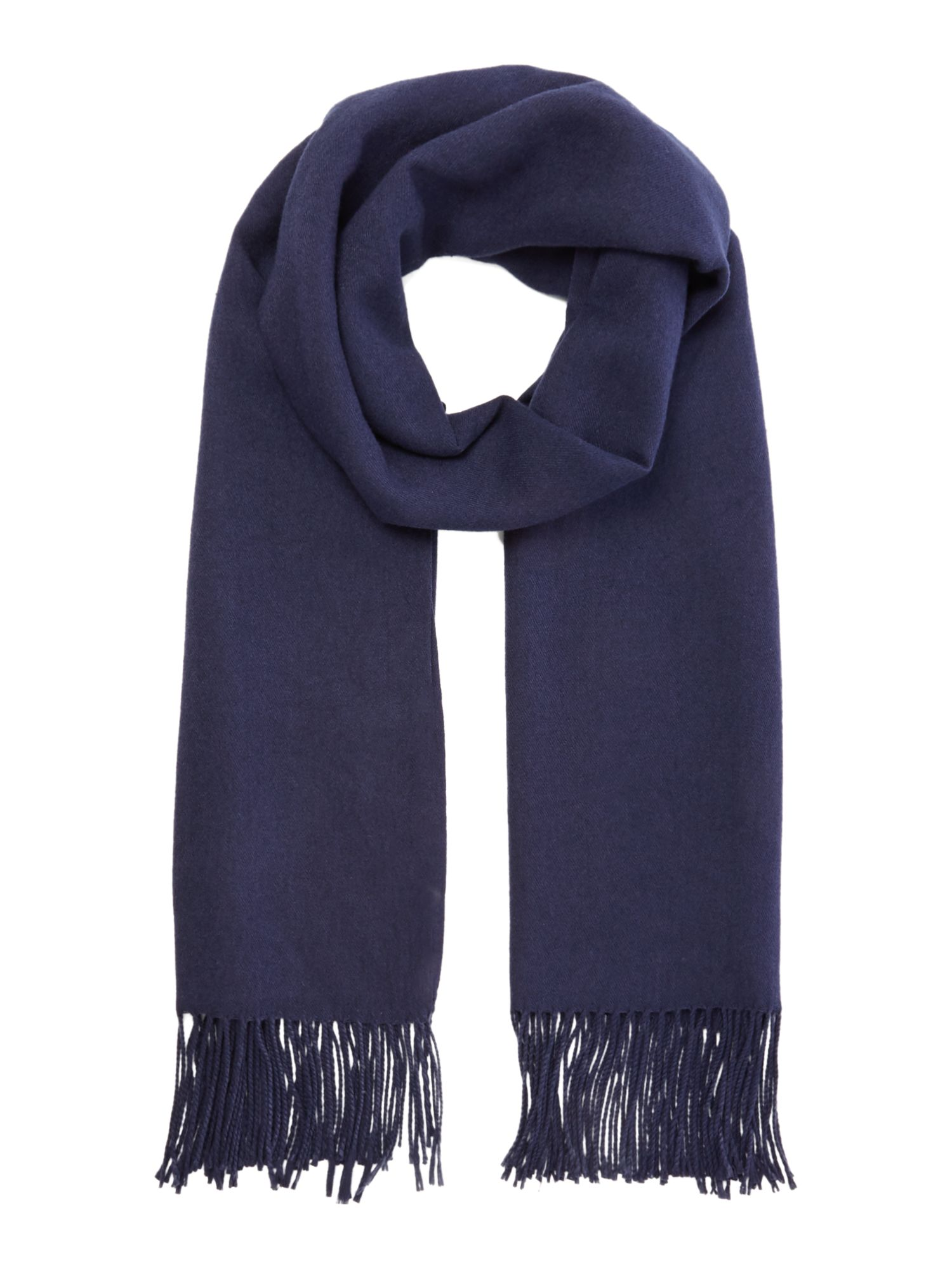 Suzanne Bettley Soft large shawl, Blue