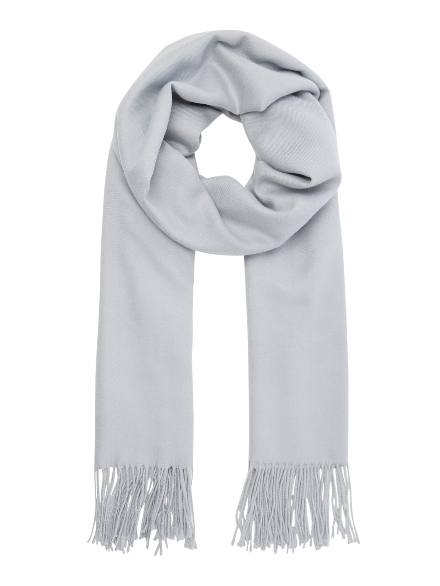 Suzanne Bettley Soft large shawl, Silver Marl