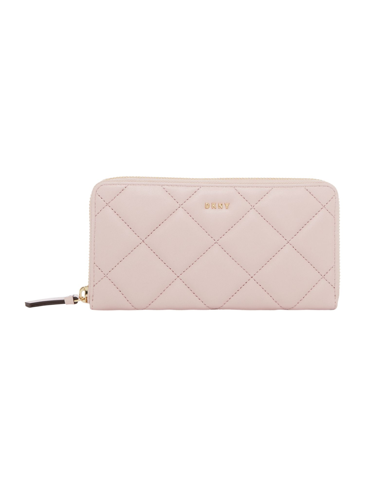 DKNY Barbara large zip around purse, Pink