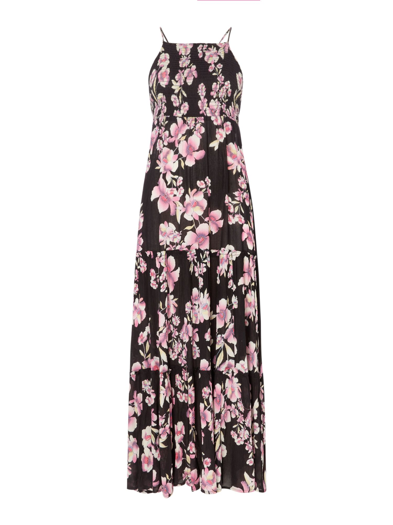 Free People Garden Party Floral Maxi Dress, Multi-Coloured
