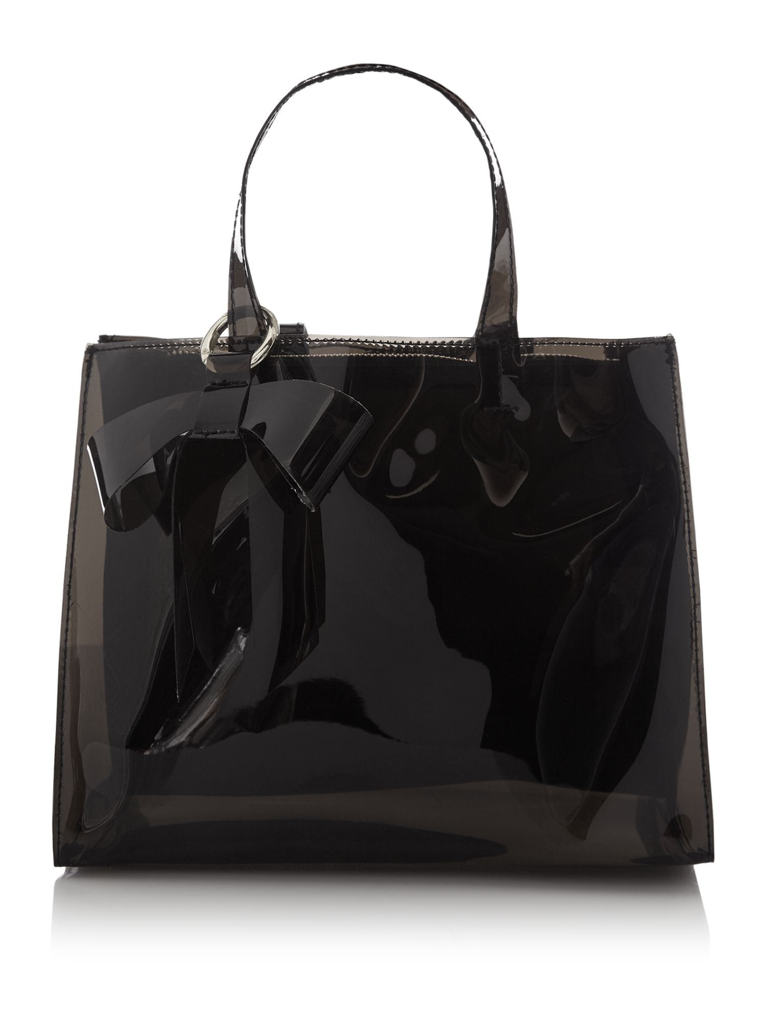 Therapy Clear Joy Tote Bag, Black