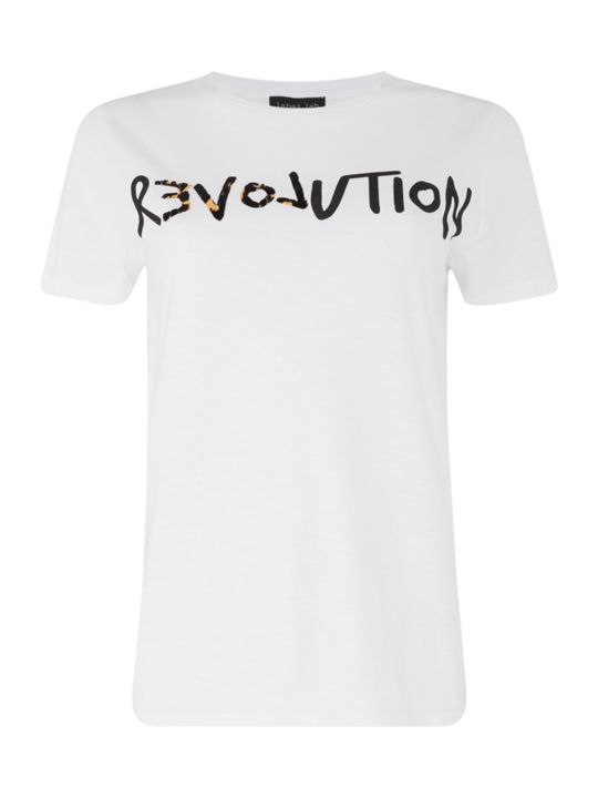 LABEL LAB Revolution Slogan Tee