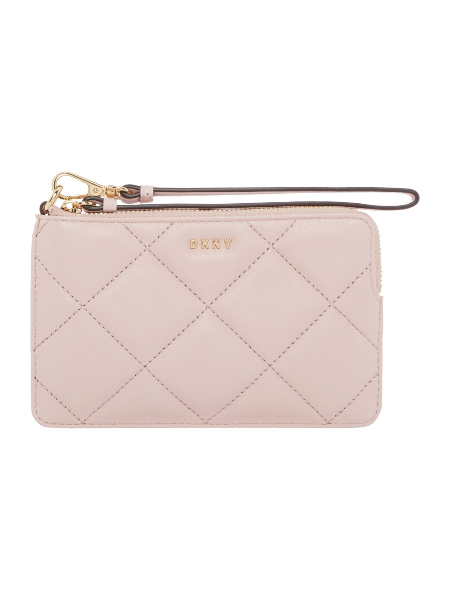 DKNY Barbara small zip around purse, Pink