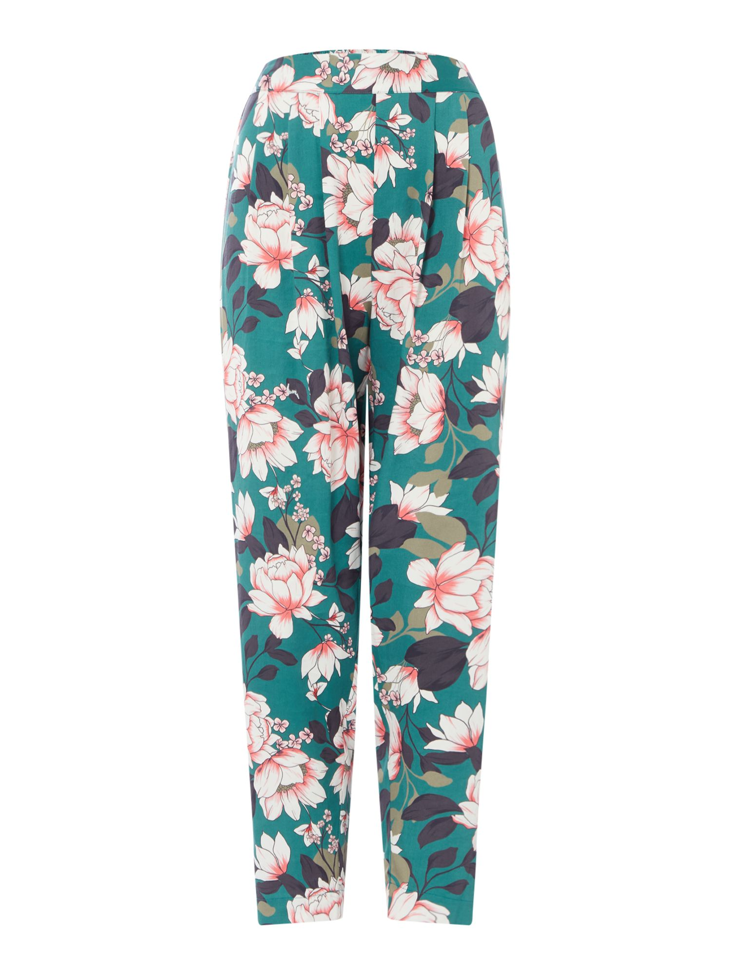 Part Two Kanika contrast print trousers, Multi-Coloured