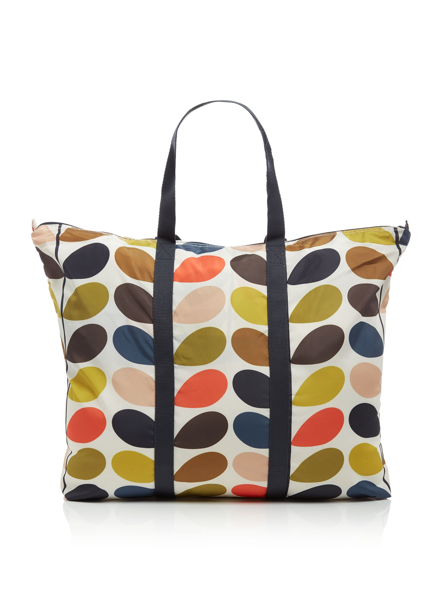 Orla Kiely Foldaway travel bag, Multi-Coloured