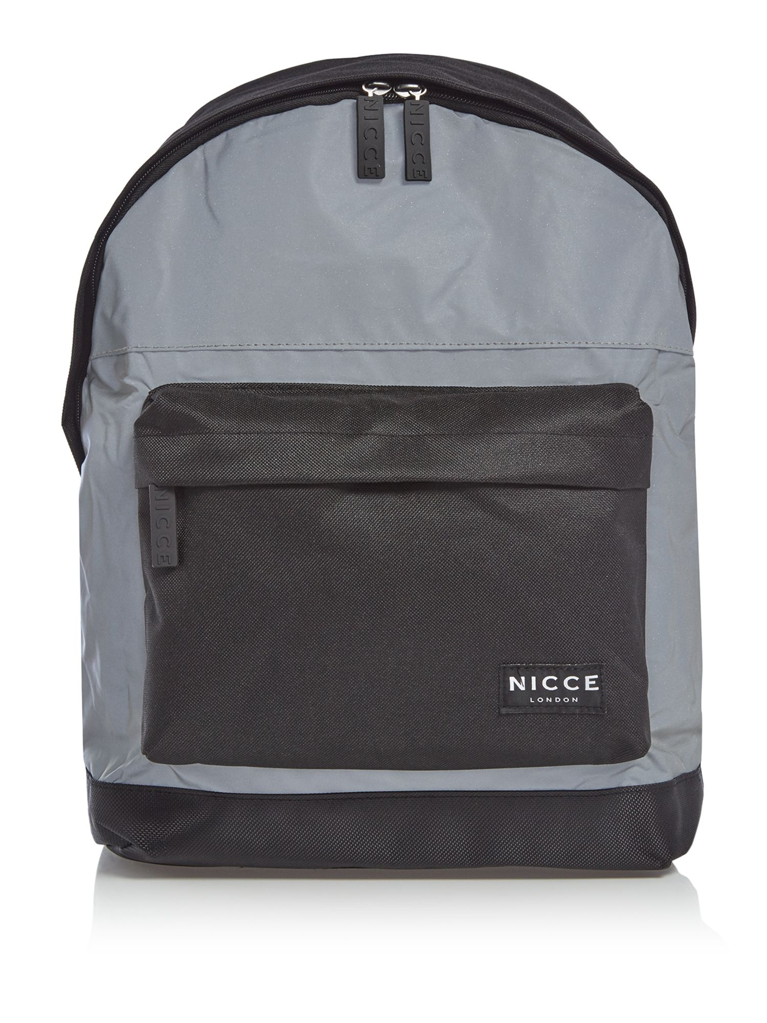 Nicce Reflective Core Backpack, Black