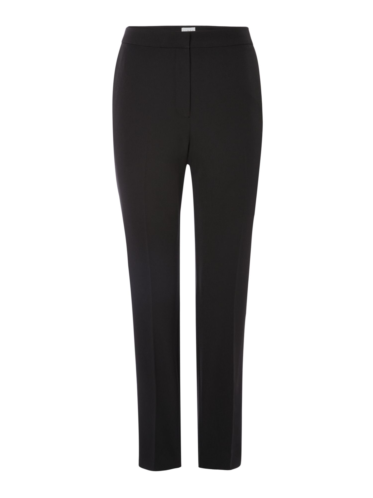 Linea Black pipa trousers, Black