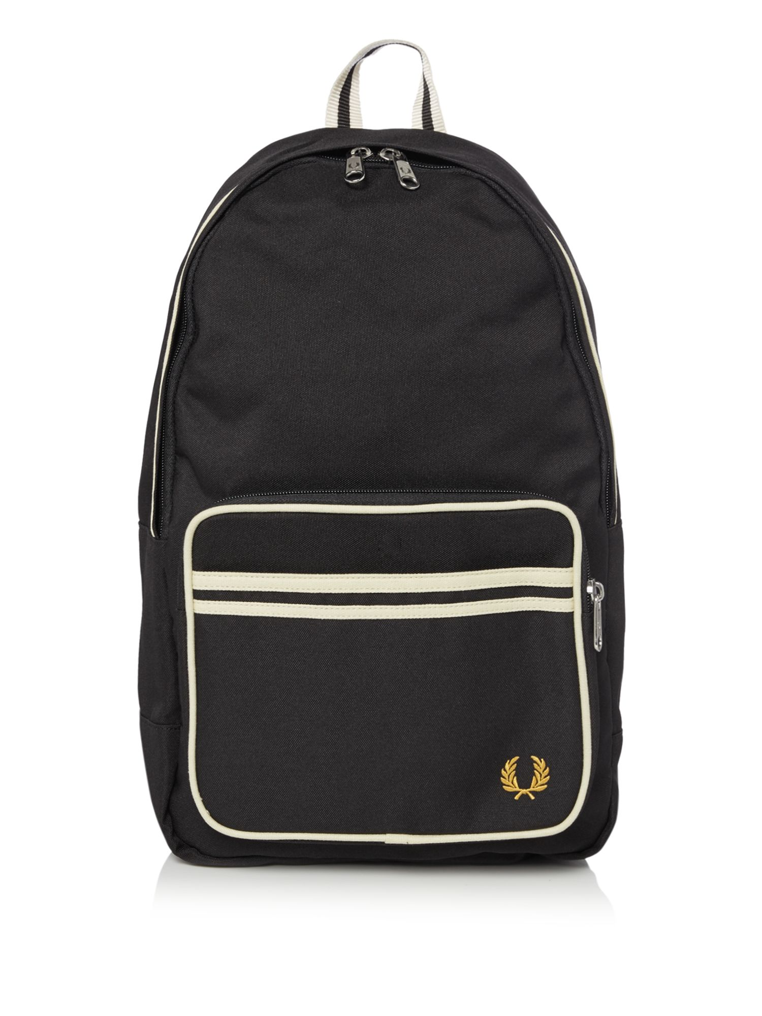 Fred Perry Twin Tipped Backpack, Black