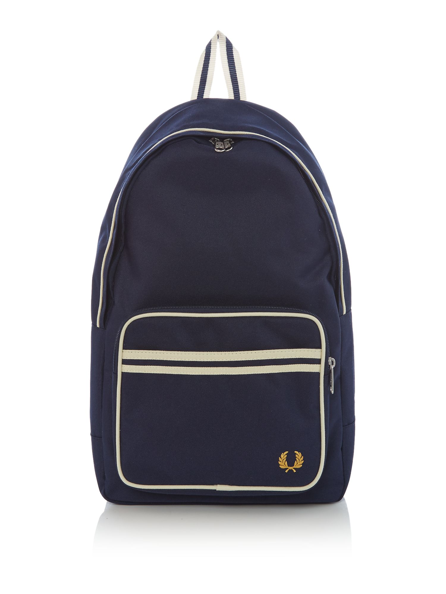 Fred Perry Twin Tipped Backpack, Blue