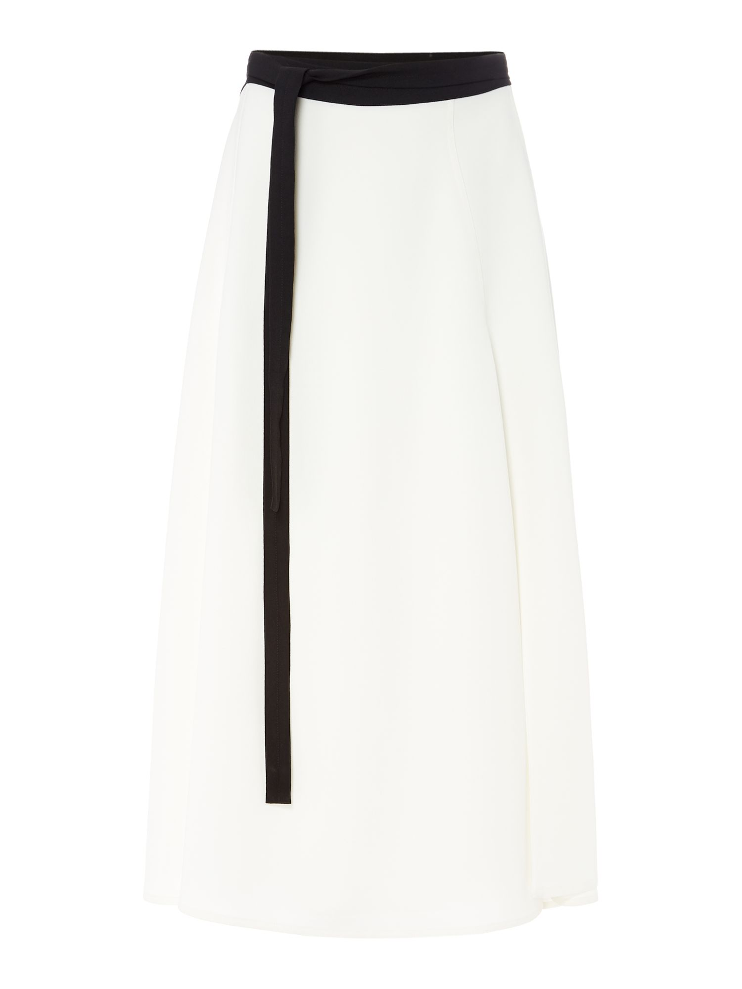 Linea Amy wrap over skirt, White
