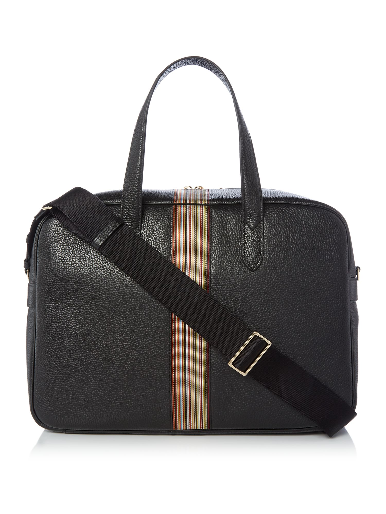Paul Smith Leather Holdall, Black