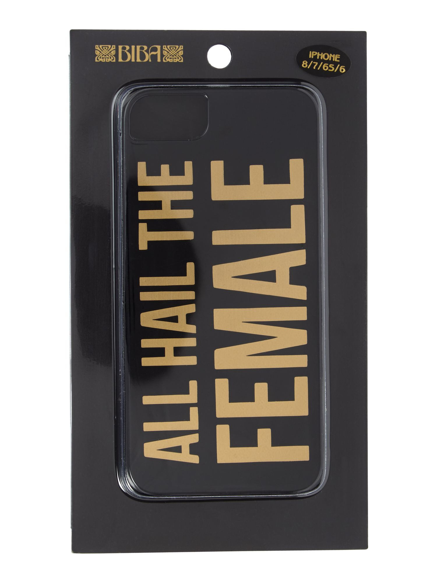 Biba All hail the female iPhone 66s78 case, Black Gold