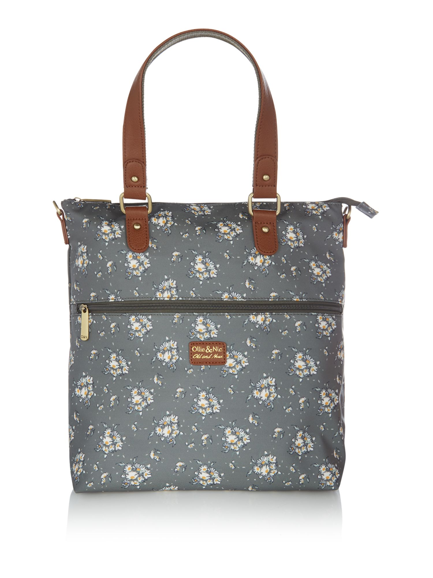 Ollie & Nic Ditsy day tote bag, Olive