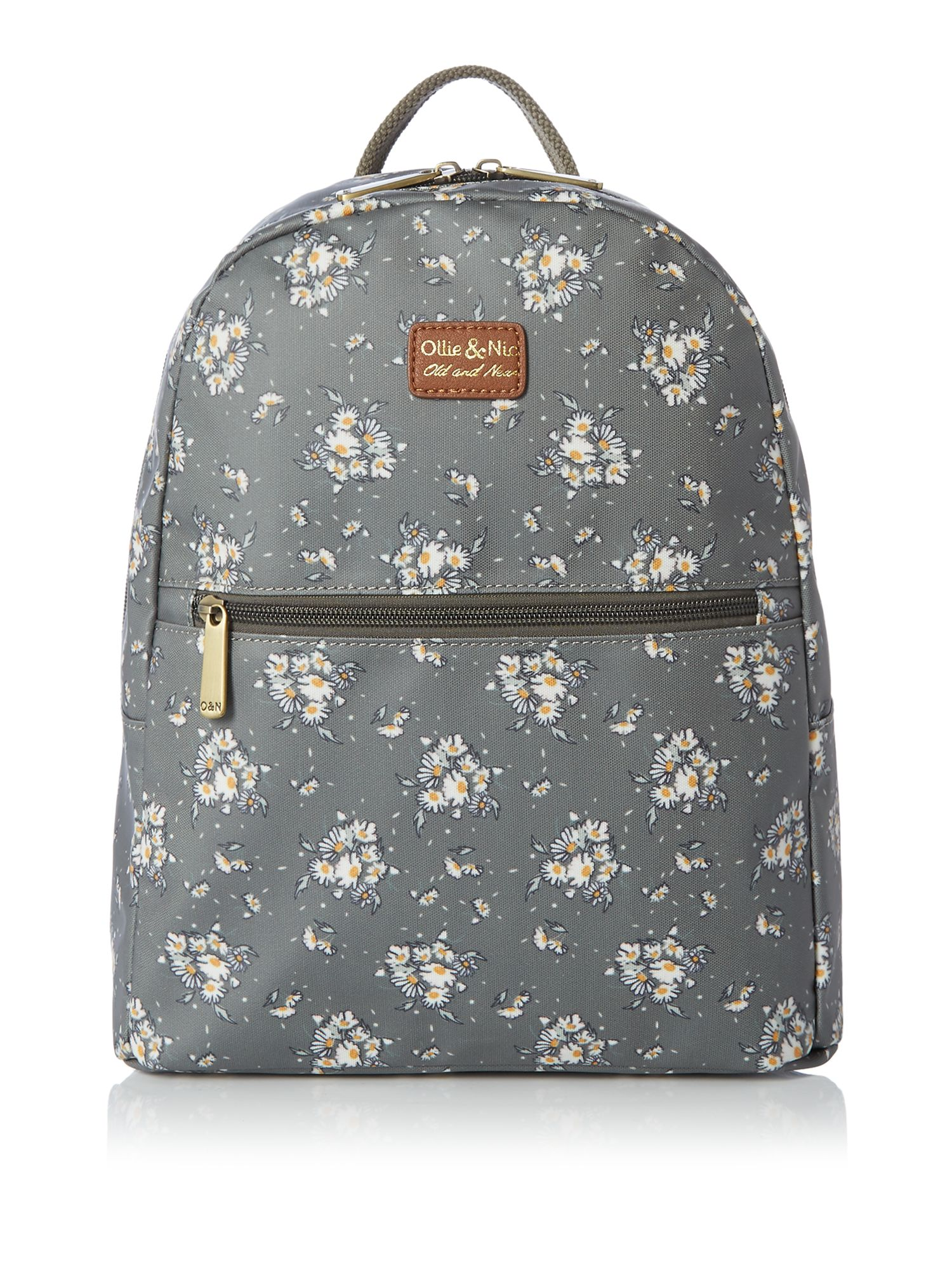 Ollie & Nic Ditsy backpack, Olive